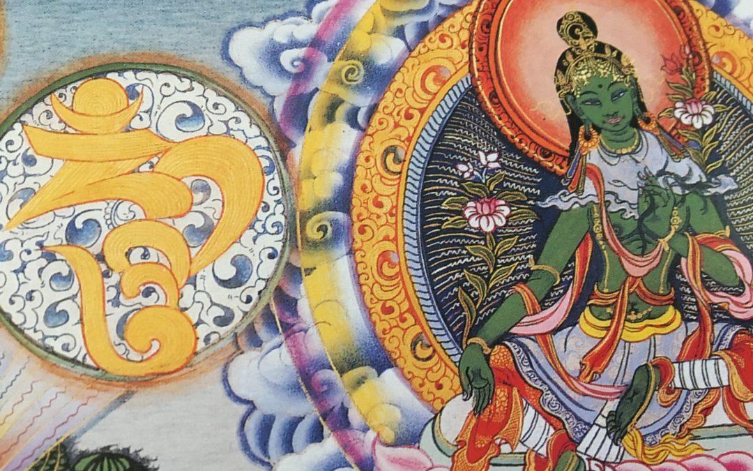 The Great Hum-Making Orange Tara
